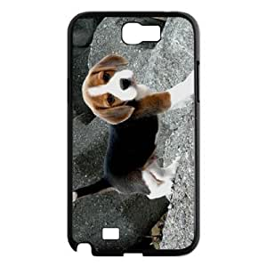 AKERCY Beagle Phone Case For Samsung Galaxy Note 2 N7100 [Pattern-3]