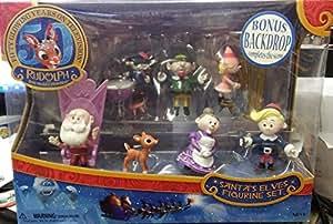 Rudolph Santa's Elves 2014 PVC Figurine Set by Forever Fun