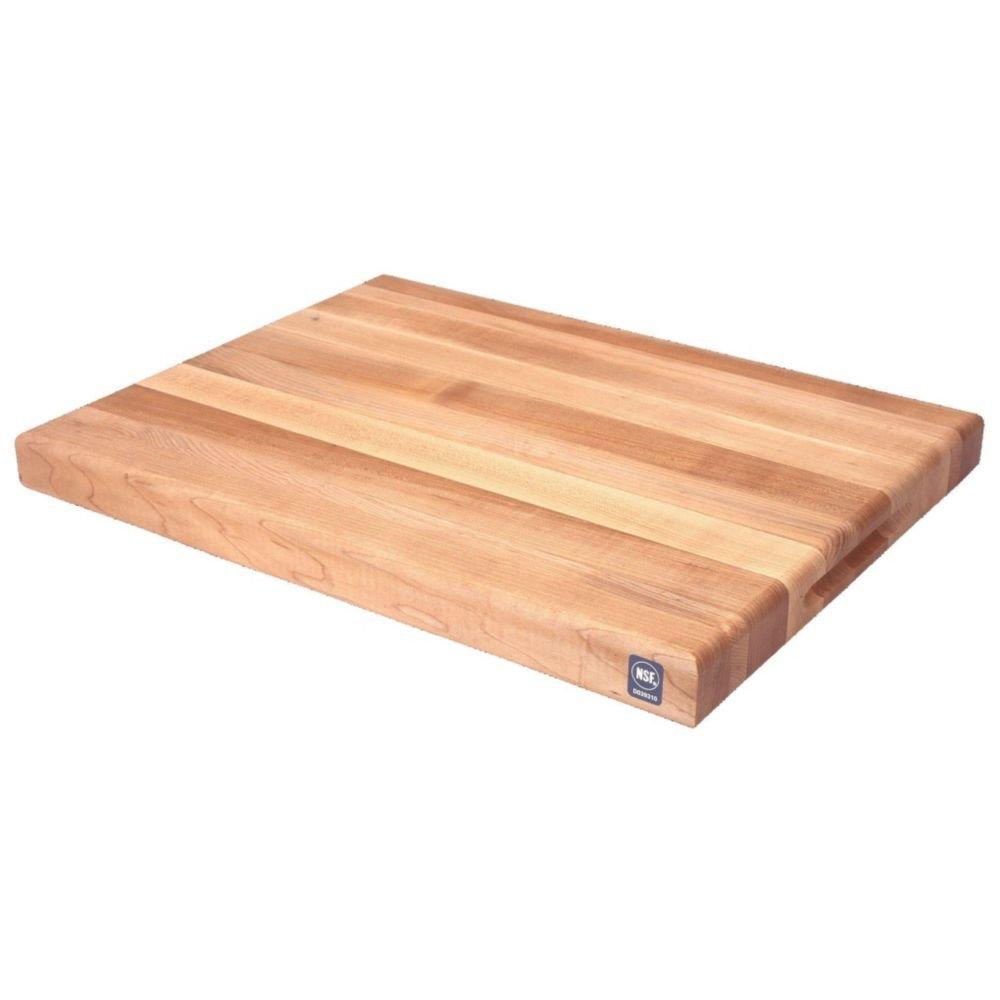 Michigan Maple Block AGA02418 24'' x 18'' Maple Cutting Board