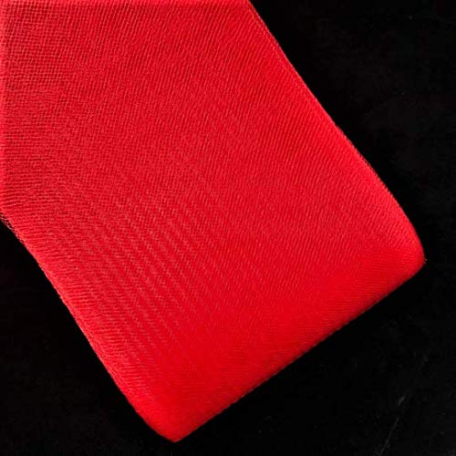 - 3'' Inch Polyester Horsehair Braid Selling per Roll/ 22 Yards 16 Different (Red)