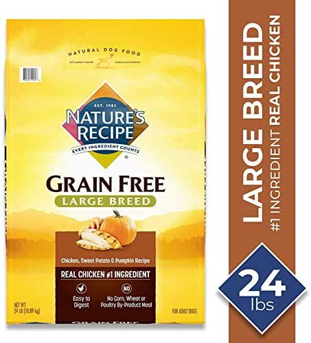 Dog Food: Nature's Recipe Grain Free Large Breed