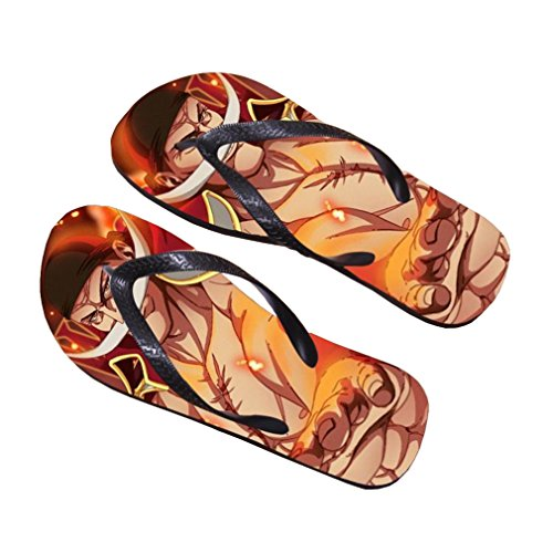 Bromeo One Piece Anime Unisex Flip Flops Chanclas 373