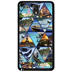 The Best Vacation Locations Collage Hard Snap on Phone Case (Note 3 III) by lolosakes