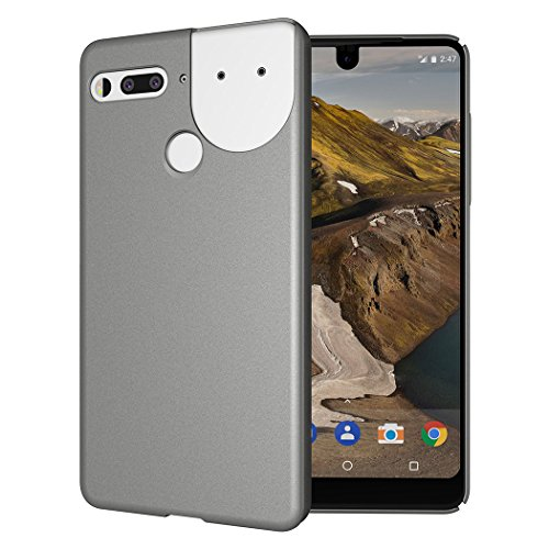 Essential Phone PH-1 Case, TUDIA Low Profile Design [LULA 2.0] [Improved Version] Polycarbonate Snap On Back Protective Cover for Essential Phone PH-1 (Compatible with 360 Camera) (Metallic Slate)