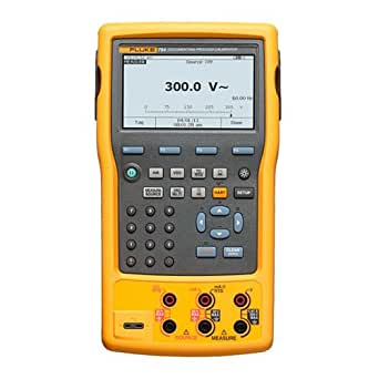 """Fluke 753 Documenting Process Calibrator with Increased Accuracy, -10 to 50 Degrees C Temperature Range, 26 V, 5.4"""" Length x 2.5"""" Width x 9.6"""" Height"""