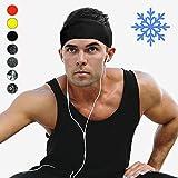 Cooling Headbands Moisture Wicking Womens Sweatband & Sports Headband | Workouts Cardio Running