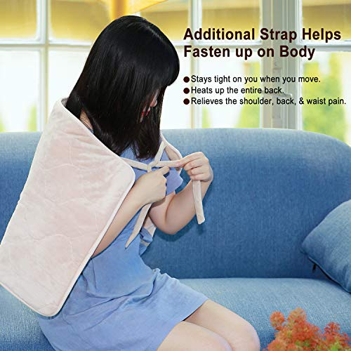 MaxKare Heating Pad Electric for Back Pain Auto Shut Off Large Size 18