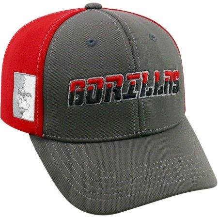 State Pittsburg Cap (NCAA University of Pittsburg State Gorillas Grey Two Tone Baseball Hat \ Cap)