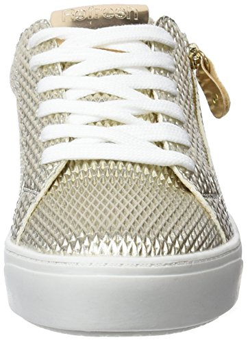 Femme Sneakers 64269 oro Or Basses Refresh t4YHzqw
