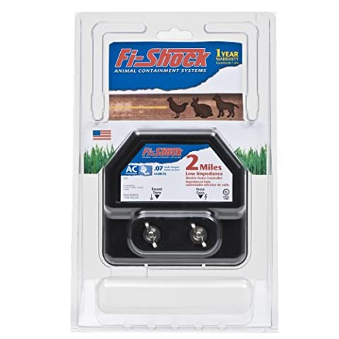 Fi-Shock EA2M-FS AC Low Impedance Energizer, 2-Mile - Fence Charger