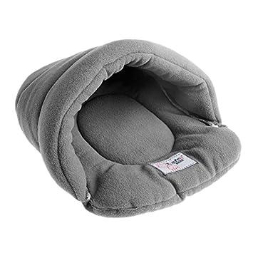 Cama para mascotas de LANDUM, suave y cálida, nido acogedor, alfombrilla, almohadilla
