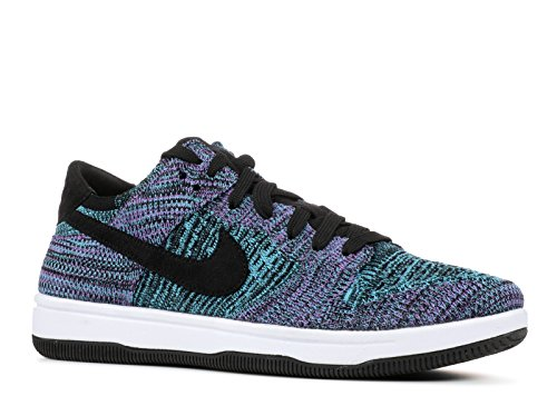 NIKE Men's Dunk Flyknit Blue/Violet/White 917746-005