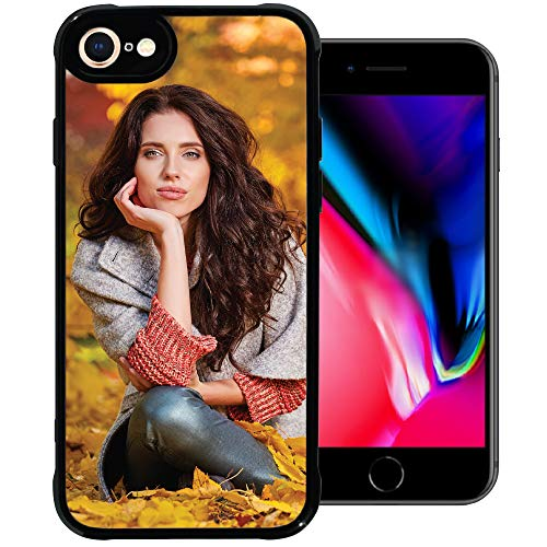 PixCase i8 / i7 (4.7 inch) - Picture Frame Case - Compatible with Apple iPhone 8 and 7 - DIY - Insert Your Own Photos or Create Custom Designs Online - Change Anytime - Shock Absorbing Protection