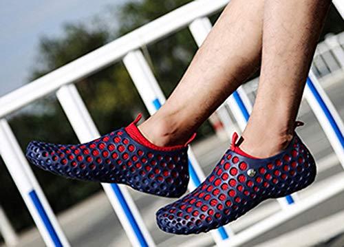 Blue Uomo Femaroly Sandali Sandali Blue Red Red Femaroly Femaroly Uomo 5qqwnxR1aO