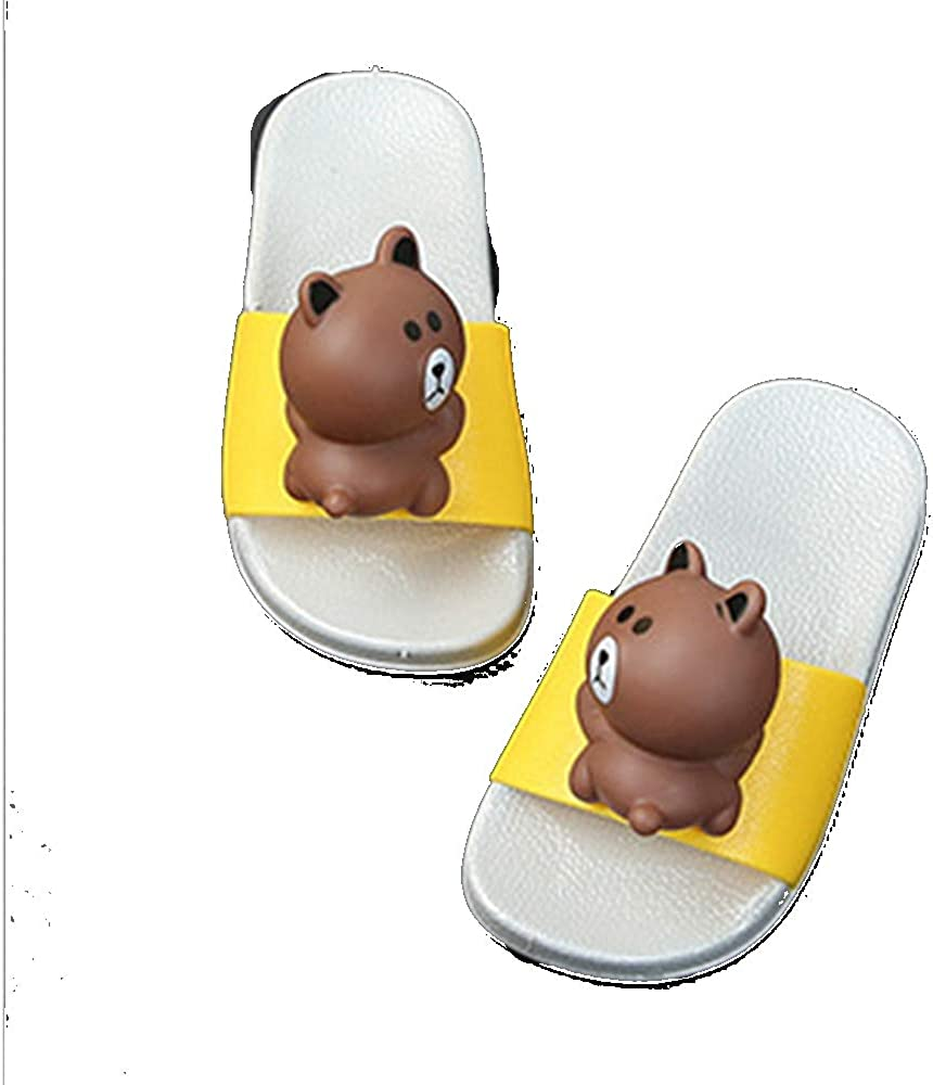 Childrens Cartoon Three-Dimensional Bear Rabbit Summer Slippers