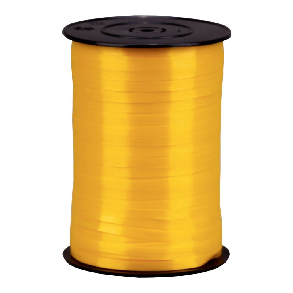Orange Wertpack 1x Rolle Geschenkband 500 m // 5 mm Polyband