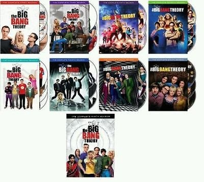 Big Bang Theory - Complete Collection, DVD (Series Seasons 1-9, 1,2,3,4,5,6,7,8,9 Bundle) USA Format Region 1