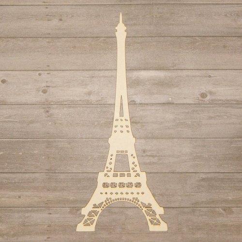 Wycinanka - Chipboards - Eiffelturm