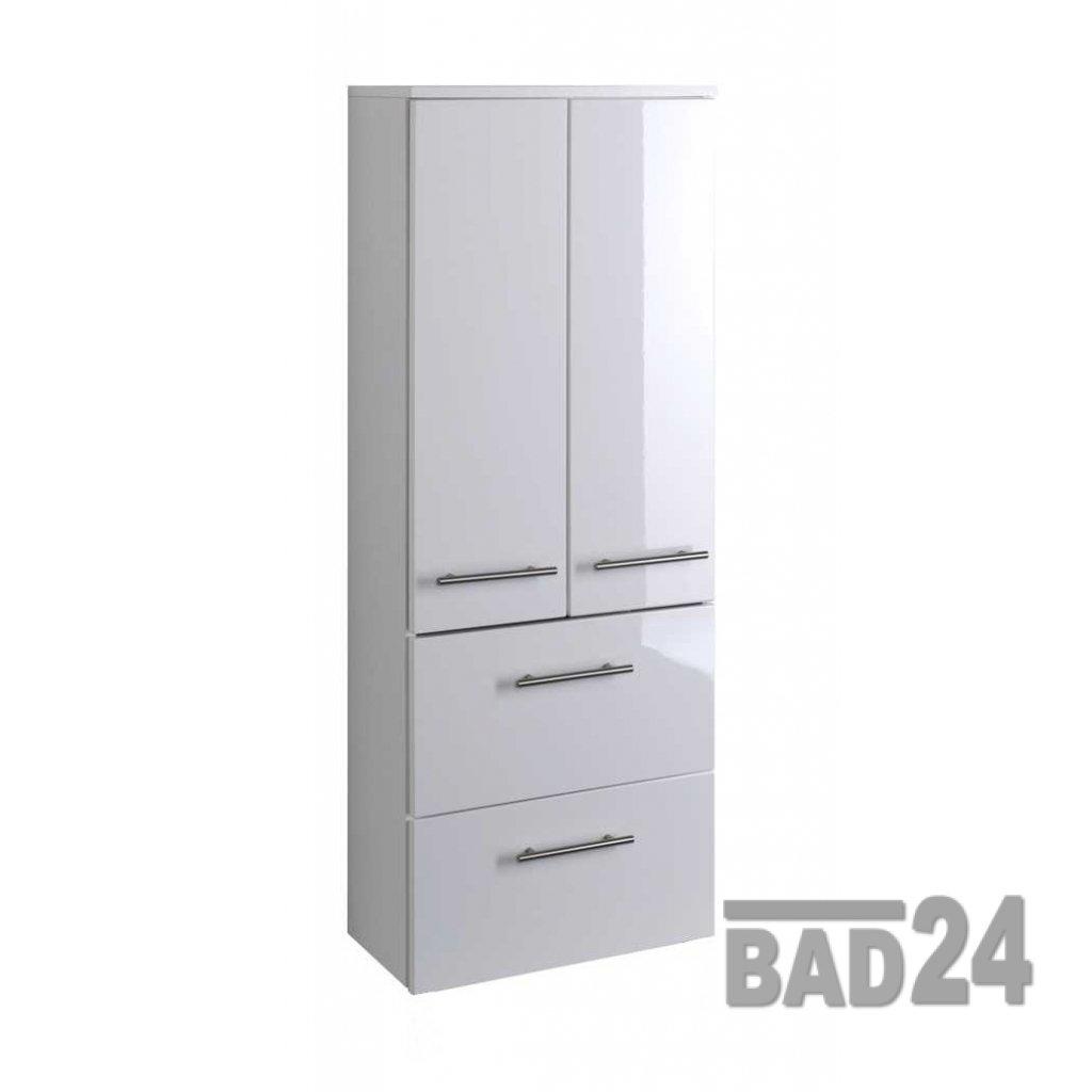 Günstiger Bad Midischrank 50, Talsi Hochglanz Weiß/weiß: Amazon.de: Küche U0026  Haushalt