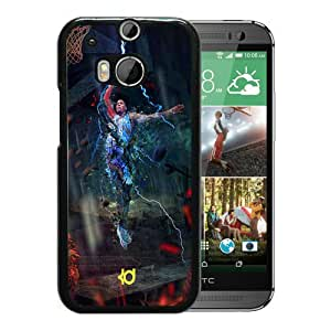 Popular Design HTC ONE M8 Case Kevin Durant 4 Black Best New Design HTC ONE M8 Cover Case