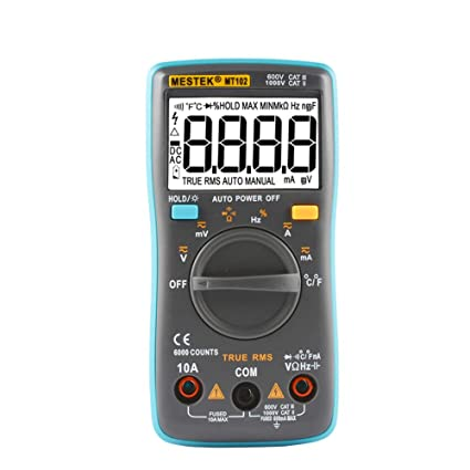 Amazon.com: Li-shan Digital Multimeter Tester, TRMS 6000 ...