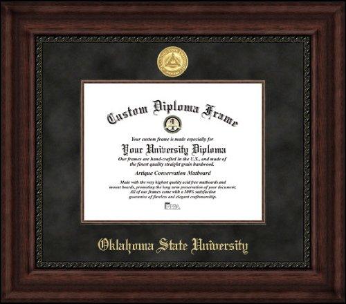Campus Images OK999EXM Oklahoma State Executive Diploma Frame, 8.5