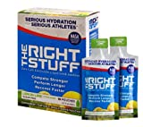 Amazon Special: The Right Stuff electrolyte drink additive - 2 10-pouch boxes of 3 flavors (Berry Blend, Orange Tangerine and Strawberry Kiwi)