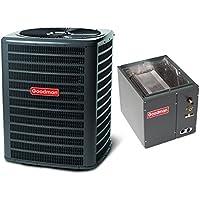 3.5 Ton 14 Seer Goodman Heat Pump Condenser and Coil GSZ140421 - CAPF4860C6 - TX3N4