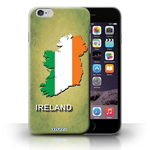 KOBALT® Hülle Case für iPhone 6+/Plus 5.5 | Irland/Irisch Entwurf | Flagge Land Kollektion