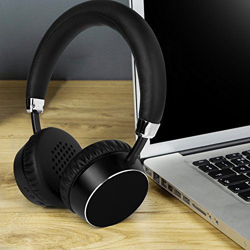 7822fa6ddcc Meidong E6ANC Bluetooth Headphones Active Noise Cancelling Headphones  Wireless Stereo headphones with Microphone, Ergonomic Design