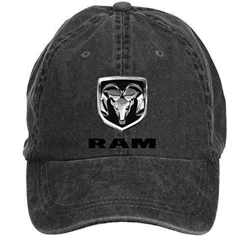chengxingda-dodge-ram-logo-cotton-washed-baseball-cap-adjustable-plain-hats-caps