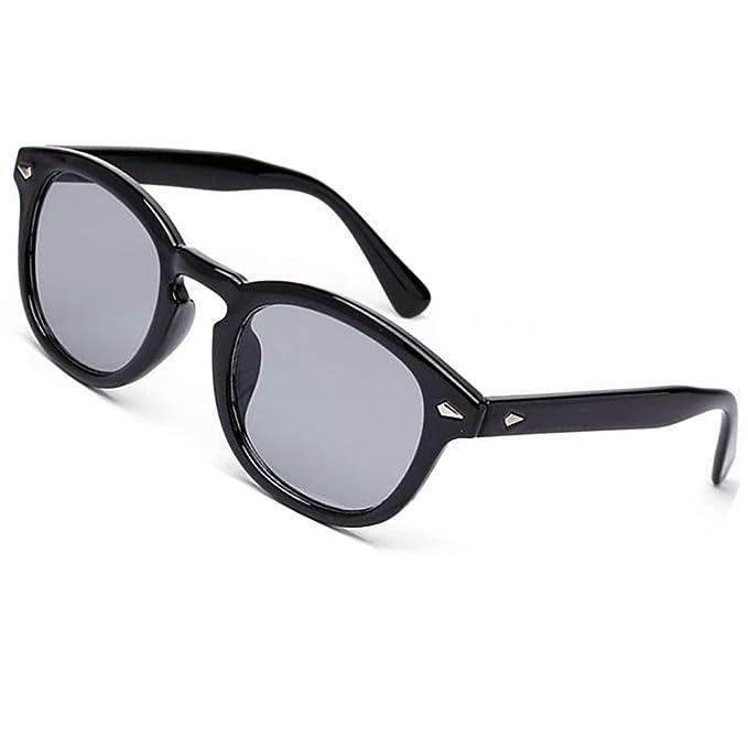 251d3fdf148f6 Vintage Round Sunglasses Aviator Nerd Women Colorful Summer Eyewear Black  Frame See Through Lens Pink Blue