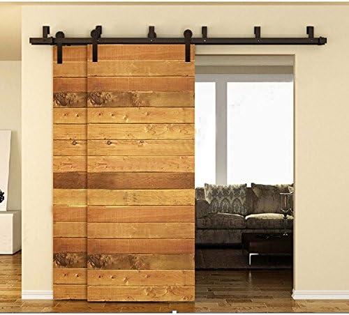 Nuevo estilo doble de antiguo de madera granero madera Hardware ...