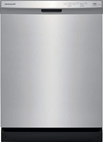 Frigidaire FFCD2418US 24 Inch Built In Dishwasher with 5 Wash Cycles (Stainless Steel)