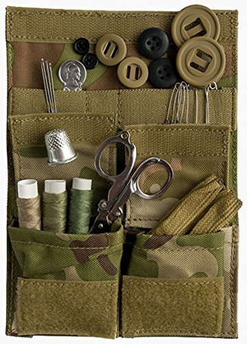 Web-Tex Heavy Duty 1000D Cordura Army Sewing Repair Kit - MultiCam Camo by Web-tex