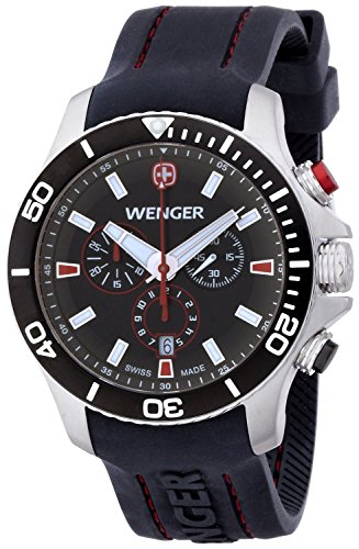 WENGER watch Seaforth Chrono 01.0643.102 Men's [regular imported goods]