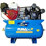 Puma Air Compressors TE-8030HGE Honda GX Engine, Electric Starter, 8 hp, 30 gal Tank