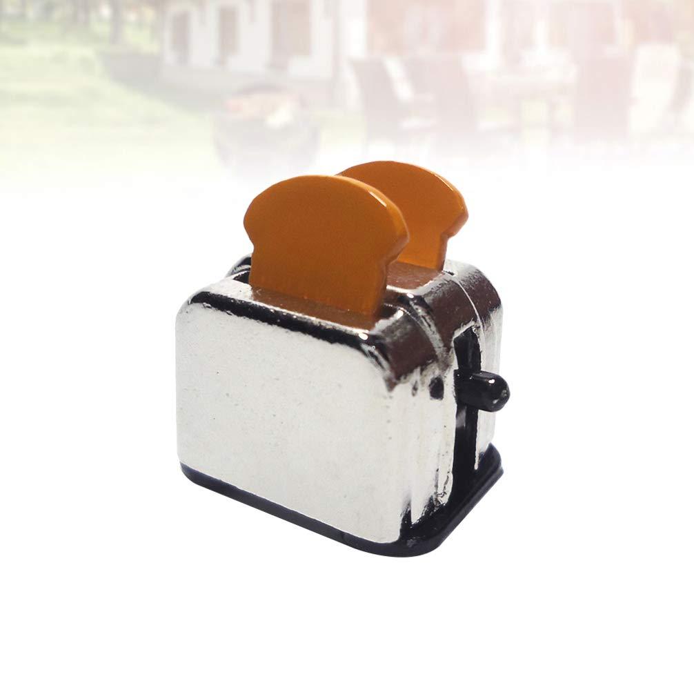 Healifty Casa de Muñecas en Miniatura Máquina para Hacer Pan ...