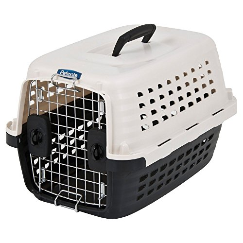Petmate-Compass-Plastic-Pets-Kennel-with-Chrome-Door