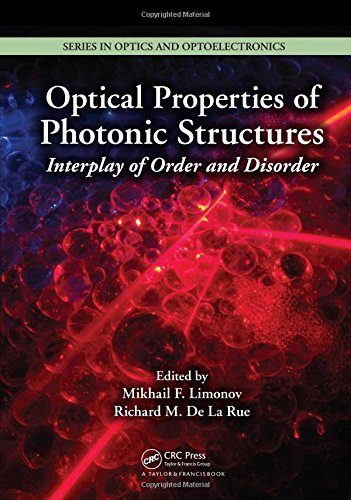 Optical Properties of Photonic Structures: Interplay of Order and Disorder (Series in Optics and Optoelectronics) (Silicon Photonics The State Of The Art)