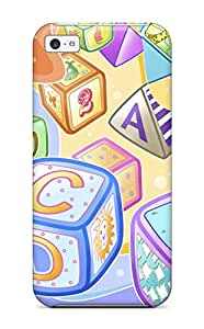 New Arrival Case Specially Design For Iphone 5c (colorful Kiddy Blocks)