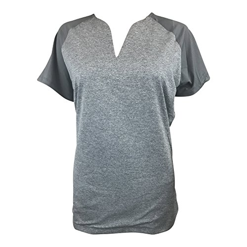Nike Women's Golf Short Sleeve Polo Shirt (Medium, Grey H...