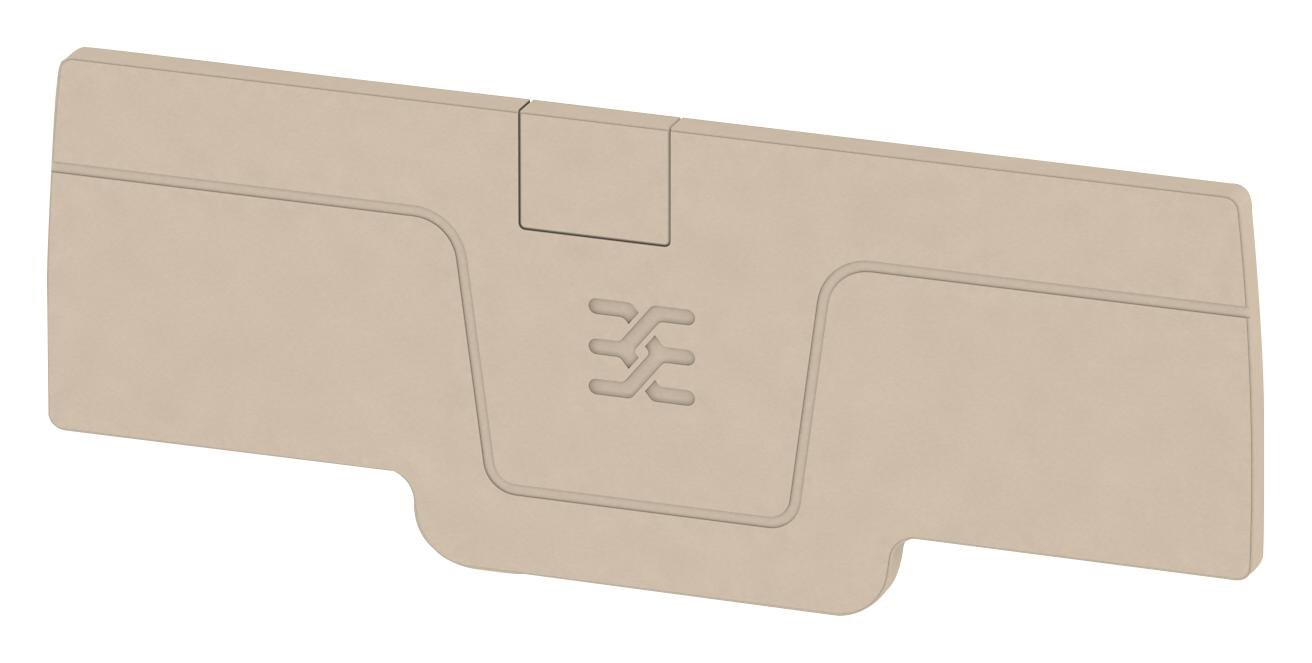 WEIDMULLER Accessory 1521530000 End Plate A Series Weidmuller A Series Feed-Through Terminal Blocks