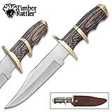 Cheap Timber Rattler Buffalo Joe Bowie Knife