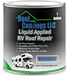 RC5000RV Liquid RV Roof Coating & RV Roof Repair (1 Gallon)