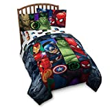 Avengers Infinity War Twin Comforter and Sheet Set