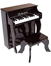 Delson 2505BK - Pianoforte per bambini, colore nero