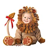 Treading - Design Arrival Christmas Xmas Holiday Halloween Costume Infant Baby Girls Lion Rompers Cosplay Newborn Toddlers Clothes [ 18M 9 ]