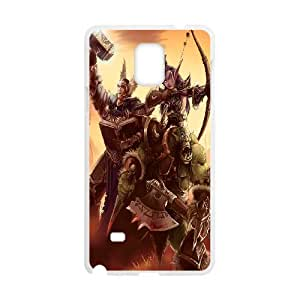 Designed With World Of Warcraft Pattern , Fit To Samsung Galaxy Note 4
