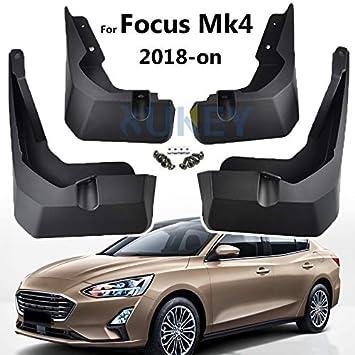Protectores de salpicaduras XUKEY para Focus MK4 2018-en 2019 - Juego de 4 piezas delanteras y traseras: Amazon.es: Coche y moto